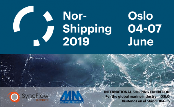We will collaborate with our partner MM in Nor-shipping 2019 fair