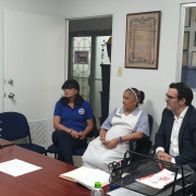 Visit to Hospital del Niño facilities in Panama
