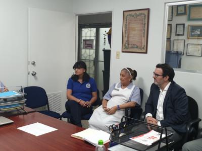Visit to Hospital del Niño facilities in Panama